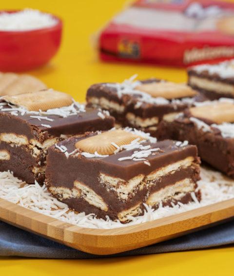 Quadradinho de Chocolate com Maizena Fortaleza