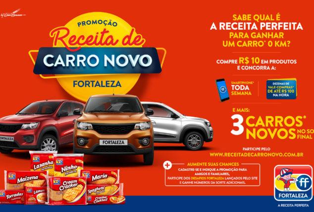 Receita de Carro Novo Fortaleza